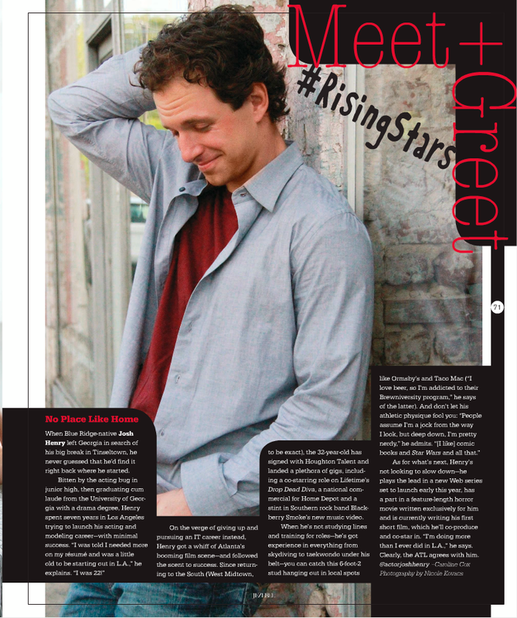 Jezebel Magazine, Nicole Kovacs Photography, Josh Henry Actor